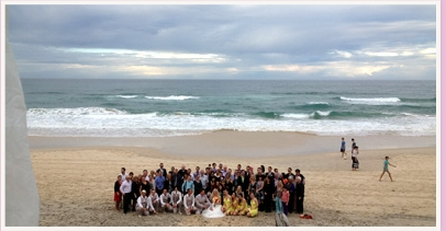 wedding ceremony at Broadbeach Gold Coast