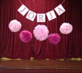 naming ceremony decorations and bunting