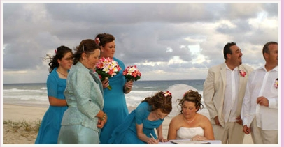 wedding ceremony at Kurrawa Beach Broadbeach Gold Coast