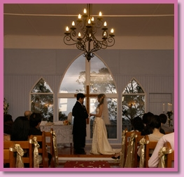 wedding ceremony by Marlee Bruinsma at Hilltop Chapel Mt Tamborine