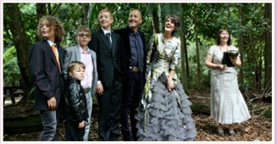 wedding ceremony at Springbrook Gold Coast Queensland